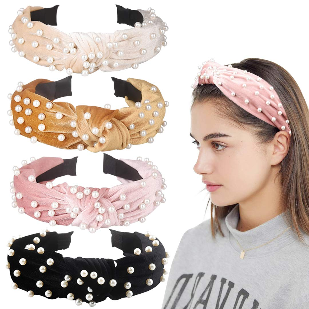 Hairband Wide Headband Braided Hair Hoop Vintage For Women Hair Accessories