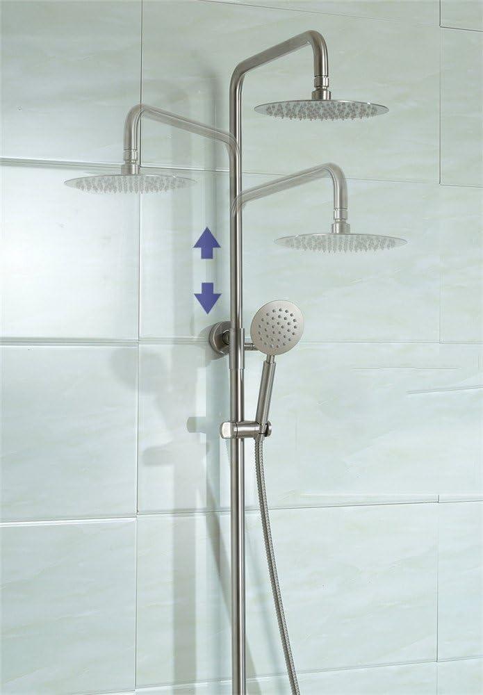 MIWANG Acero inoxidable 304 ducha, ducha, Dibujo, mampara de ducha ...