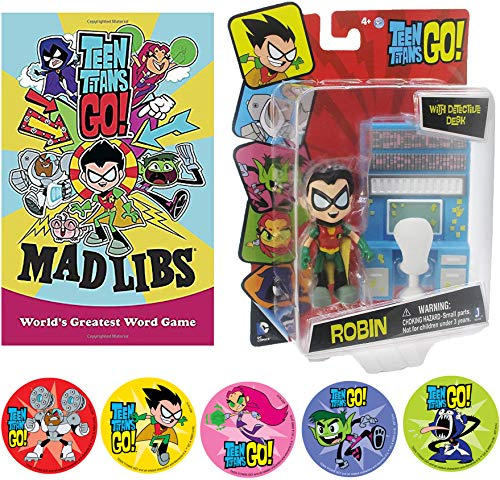 Toy Wonder Robin Teen Titans Go Figure Super Hero Pack 2.75
