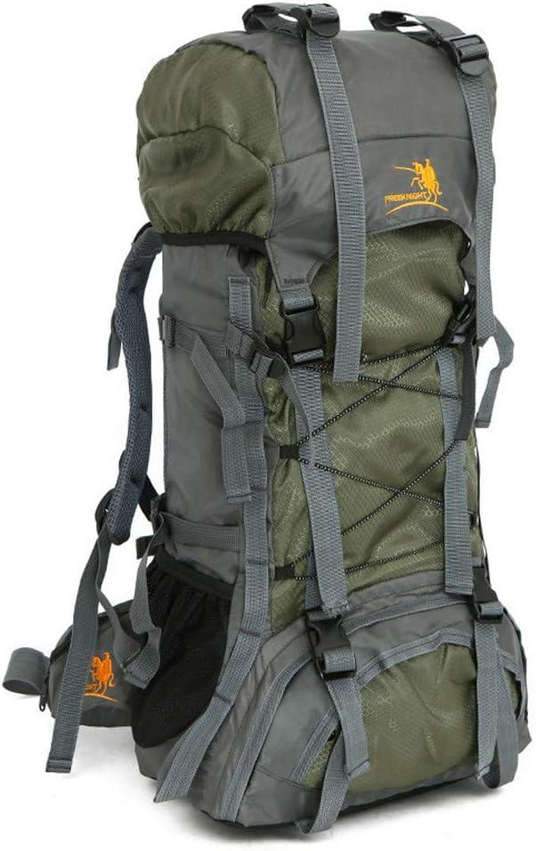Grün SSCYY 60L Outdoor Schulter Sporttasche wasserdichte Oxford Bergsteigen Tasche Camping Wandern Rucksack Männlich