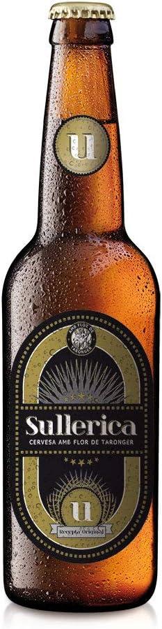 Cerveza Sullerica Original. Pack 12 botellas de 0,33 l.