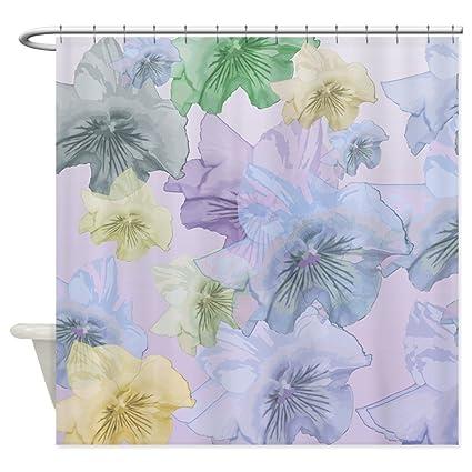 Amazon CafePress Floating Pastel Pansies Decorative Fabric