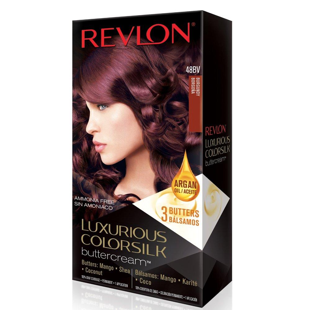 Amazon Revlon Luxurious Colorsilk Buttercream Vivid Burgundy