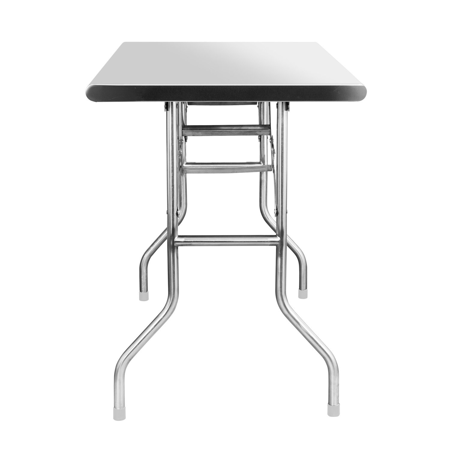 Royal Gourmet Stainless Steel Folding Work Table, 48'' L x 24'' W by Royal Gourmet (Image #2)