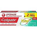 Colgate Total Toothpaste, Professional Clean Gel, 150g (Pack of 2)