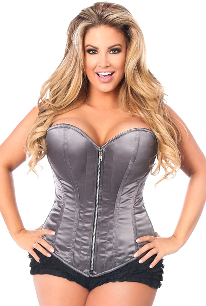 Daisy corsets Top Drawer White New products, world's highest quality popular! Max 62% OFF Satin Boned Steel Corset