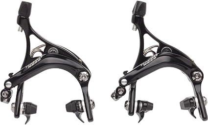 Tektro R539 Caliper Road Barke Reach 47-59mm W//QR Design Front//Rear//Set Black