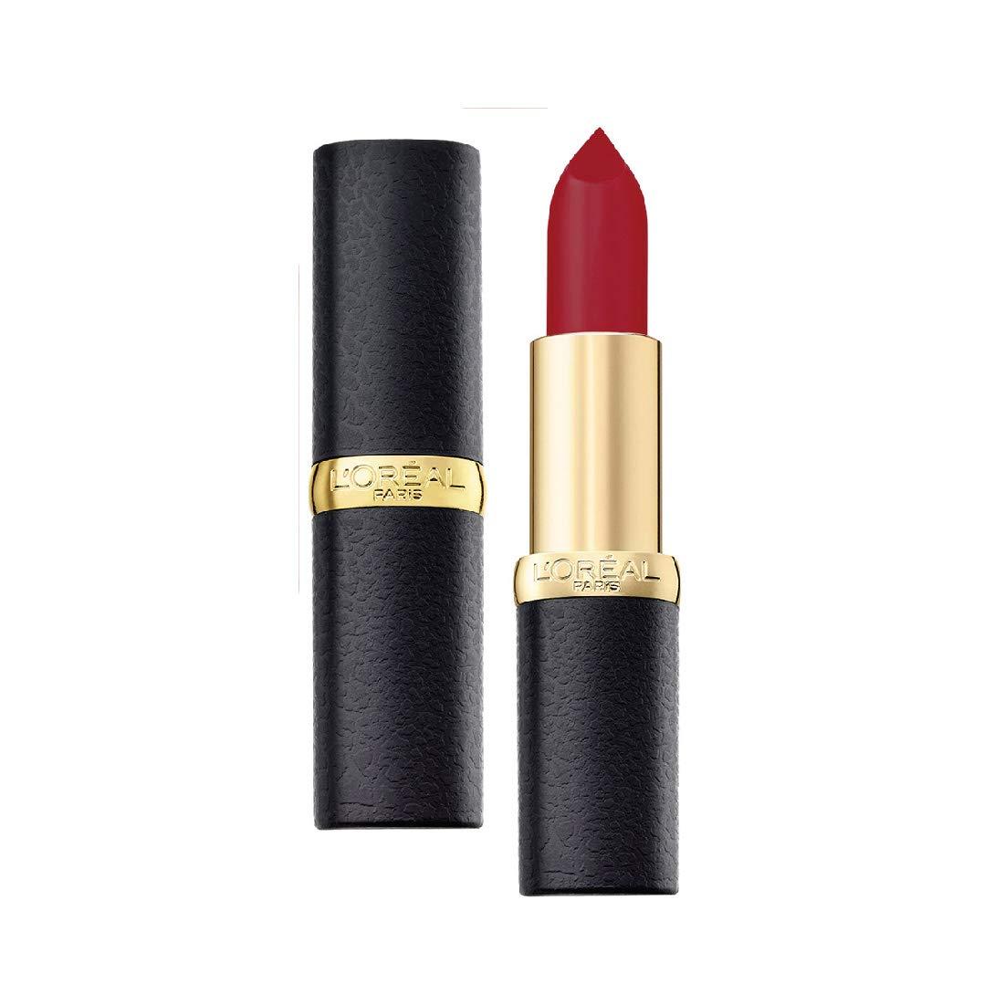 L'Oreal Paris Color Riche Moist Matte Lipstick, 266 Pure Rouge
