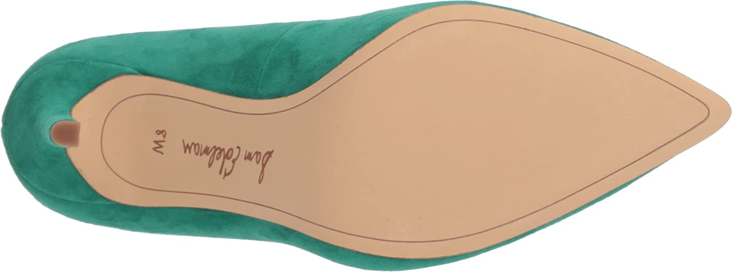 Sam Edelman Women's Hazel Dress Pump B076P3693H 7.5 B(M) US|Jade Green Kid Suede Leather