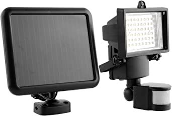 Gladle 60 LED proyector de pared de energía solar Sensor de ...