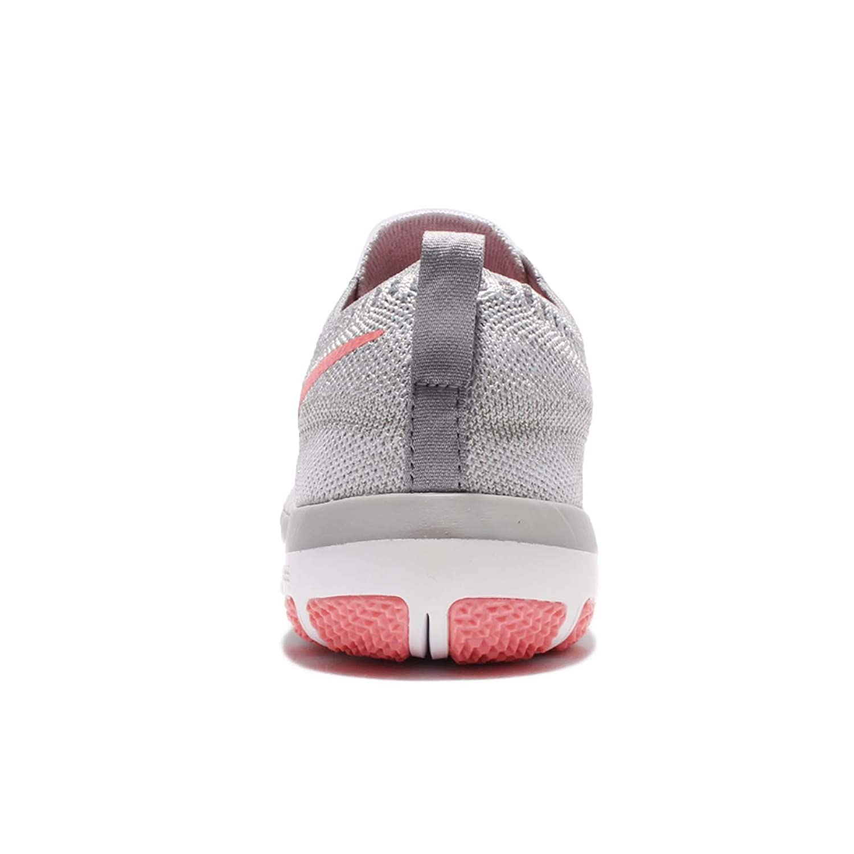 NIKE Womens Free TR Focus Flyknit Training Shoe, White/Bright ...