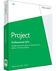 Microsoft Project Pro 2013, Licence Card, 1 User (PC)