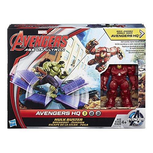 Marvel Avengers HQ Hulk Buster Breakout Set