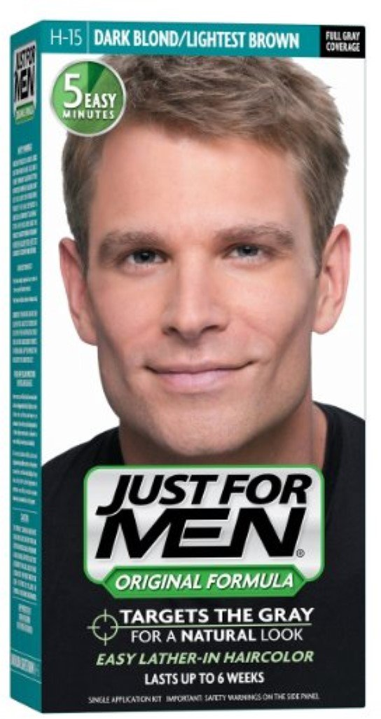 JUST FOR MEN Hair Color H-15 Dark Blond 1 Each (Pack of 6)