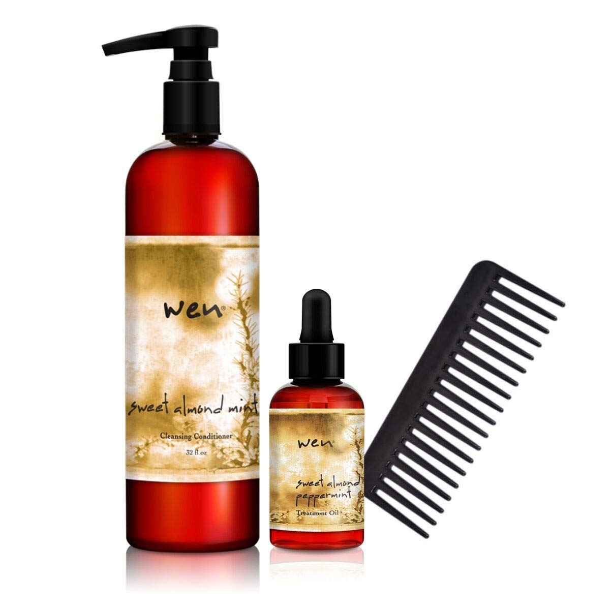 Wen Fall Ginger Pumpkin - Cleanses, Nourishes and Restores the Look of Hair, No Harsh Sulfates (16 oz) w/CD