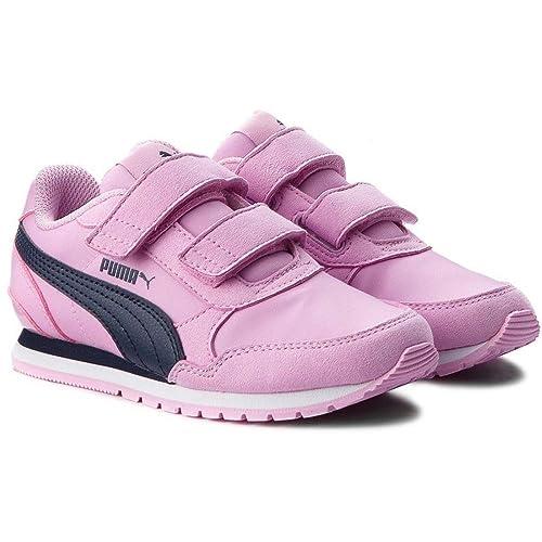 Amazon Bambina 35 V Nl Scarpa V2 St Rosa it Eu Ps Puma Runner fFxPwW0