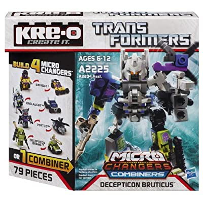 KRE-O Transformers Micro-Changers Combiners Decepticon Bruticus Set (A2225): Toys & Games