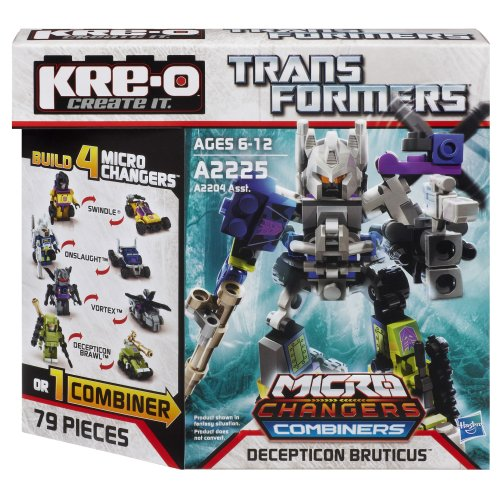 KRE-O Transformers Micro-Changers Combiners Decepticon Bruticus Set - Combiners Transformers Kreo