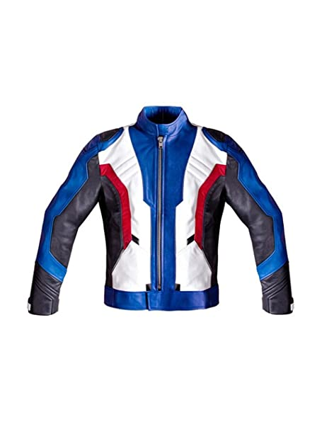 d98252541 SALTONI Mens Overwatch Game Soldier 76 Leather Jacket: Amazon.ca ...