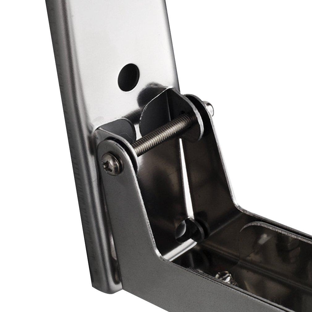 Montagemateria(Silber) blackpoolal robust verstellbar Mikrowellenhalter Halterung Wand Regal f/ür Mikrowellen Wandhalterung Regal edelstahl Mikrowellenherd Wandhalterung bis 35 kg ausziehbar inkl