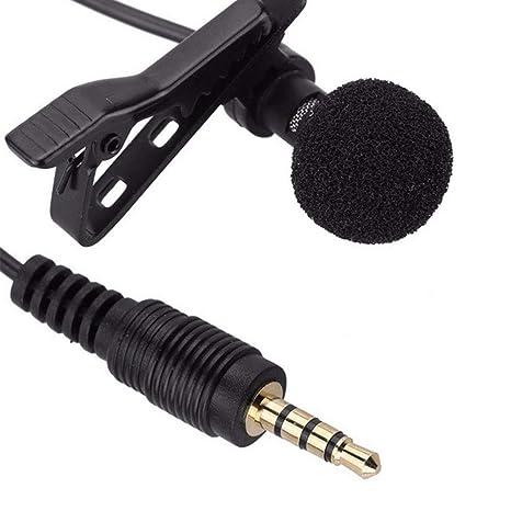 Micrófono Microfono con Micrófono Microfono para Solapa Clip de ...