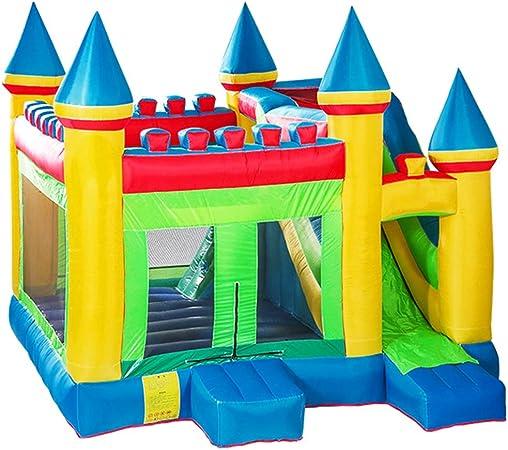Castillos hinchables Jardín de los niños Trampolín Aire Libre Parque de Atracciones para niños Equipo de Juegos Infantiles al Aire Libre Juguetes para niños de niños y niñas: Amazon.es: Hogar
