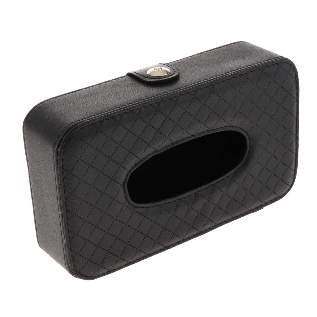 Beige KESOTO Leder Optik Feuchtt/ücherbox Tissuebox Kosmetikt/ücherbox Taschentuchspender Seidenpapier Tissue Box Halter