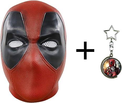 FUGUI máscara de Deadpool para Disfraz de Cosplay de película para ...