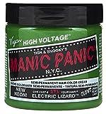 permament Manic Panic Semi-Permament Haircolor Electric Lizard 4oz (3 Pack)