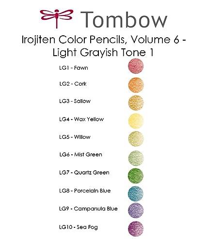 Tombow  Irojiten Coloring Pencil CI-RT No.1-3 30 Pencils Set Express Shipping
