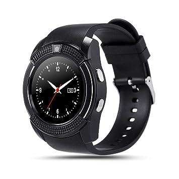 Amazon.com : WTGJZN V8 Bluetooth Smartwatch Touch Screen ...