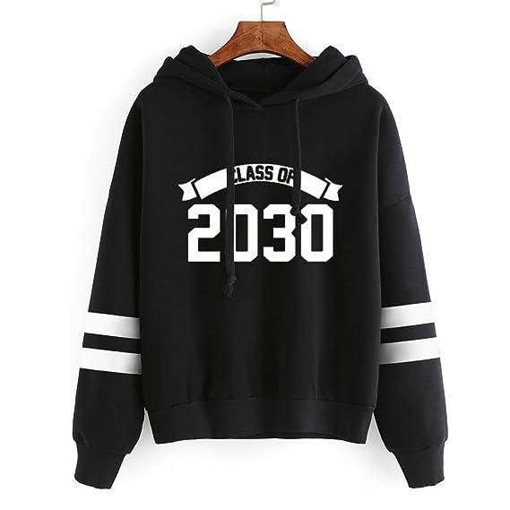 Beikoard 2018 Sudadera De Manga Larga con Capucha y Forro Polar, Mujer De Manga Larga Sudadera con Capucha Jersey con Capucha Suéter Tops Blusa: Amazon.es: ...