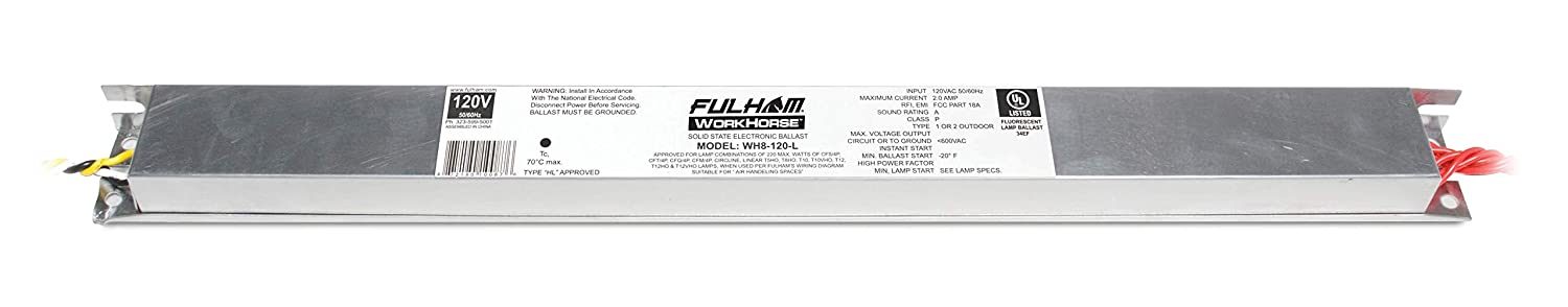 Fulham WH8-120-L WorkHorse Adaptable Ballast Fulham Co. Inc.