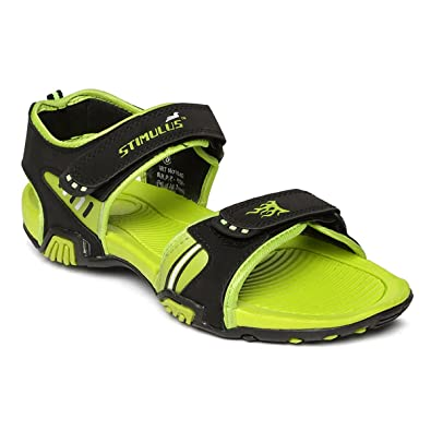 fb04247f2874 PARAGON Stimulus Men s Green Sandals  Buy Online at Low Prices in India -  Amazon.in