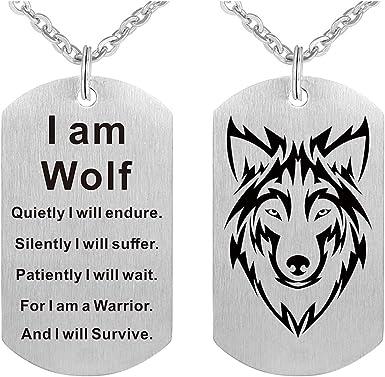 Wolf Dog Tag