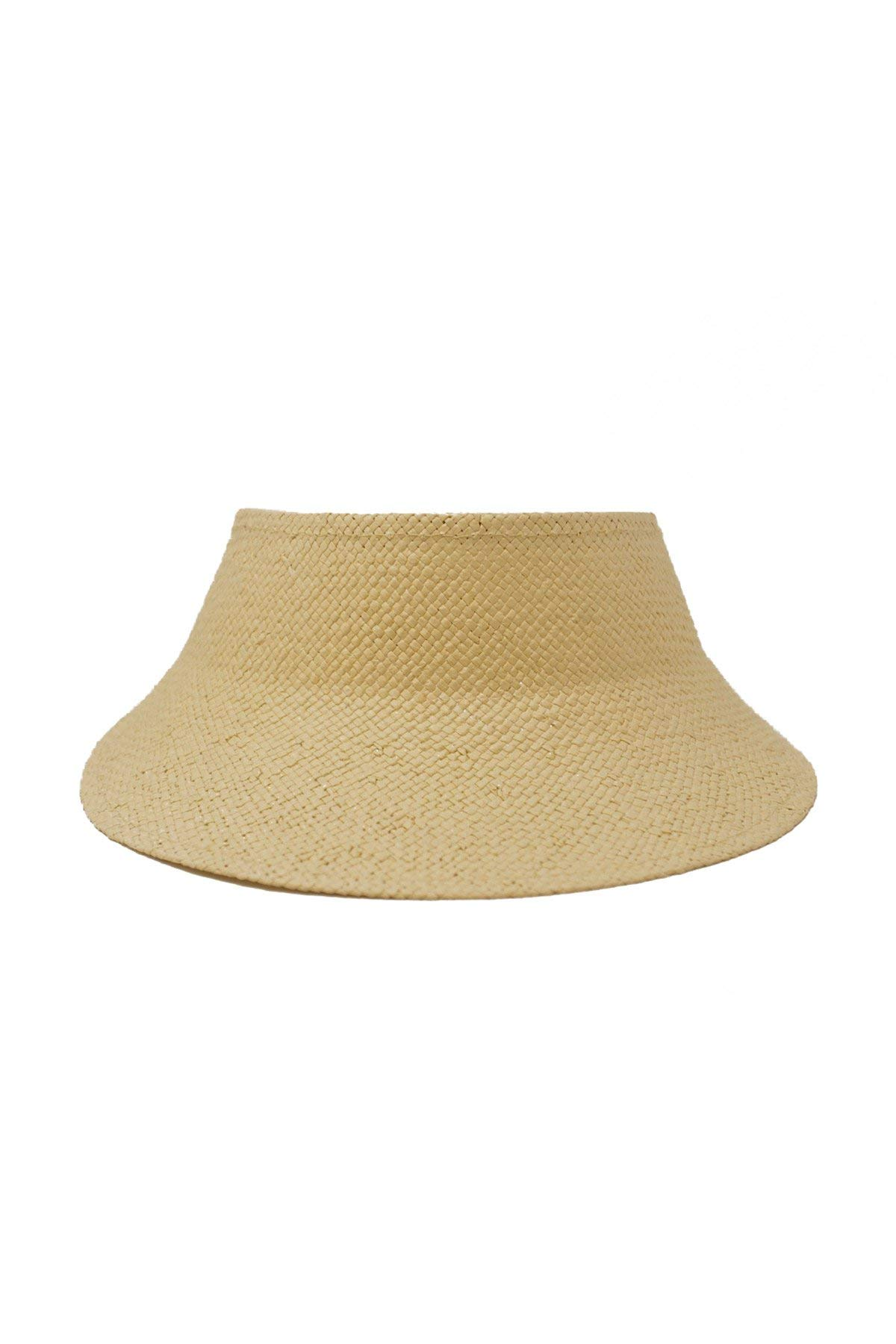 Wyeth Hats Women's Woven Straw Sun Visor Natural One
