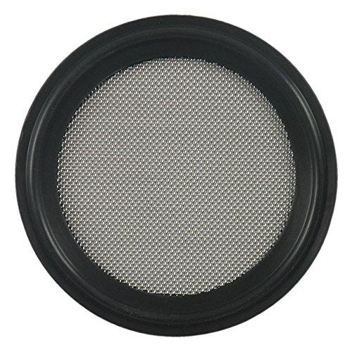 - FKM Sanitary Tri-Clamp Screen Gasket, Black - 3/4