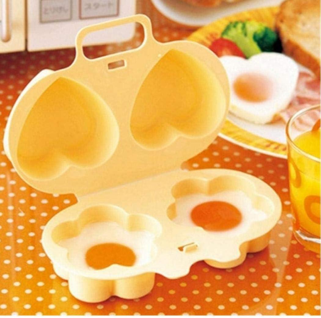 AMOYER Microondas para Cocinar Huevos Huevo Vapor del Molde En ...