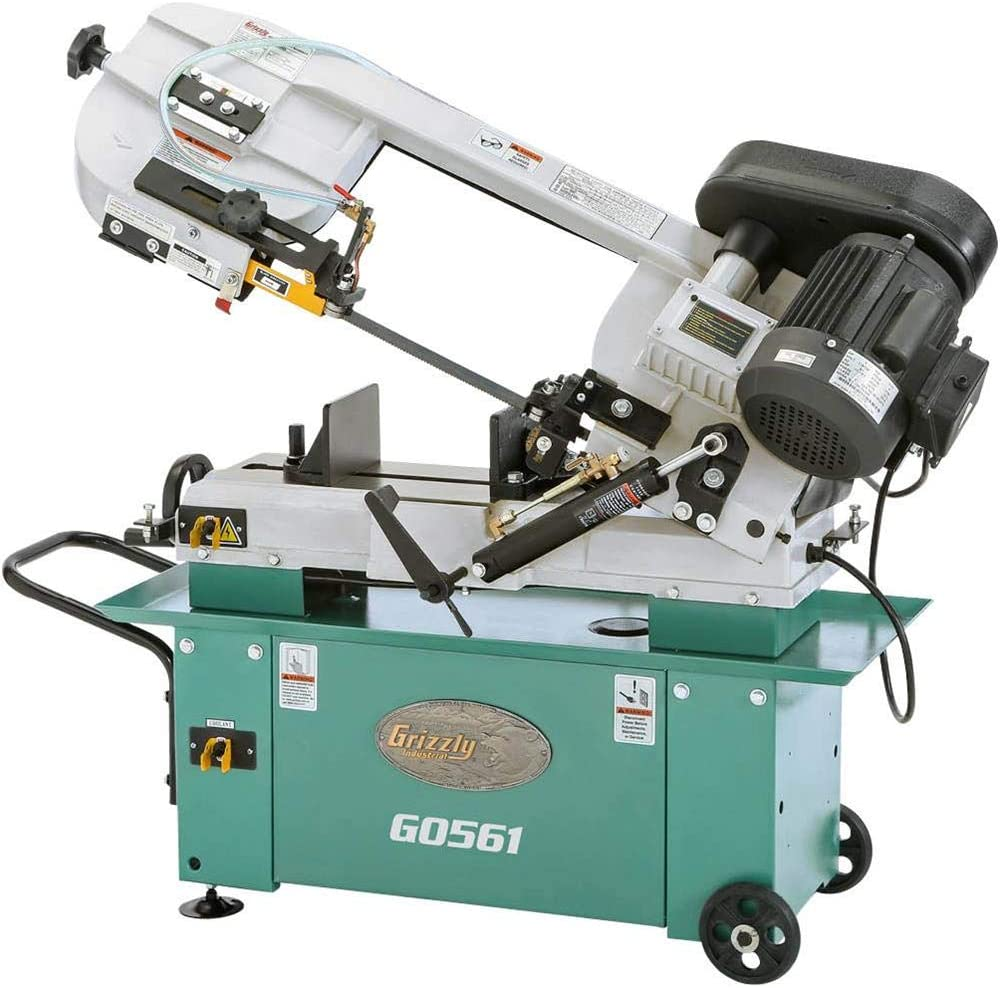 Grizzly G0561 Metal Cutting Bandsaw, 7 x 12-Inch