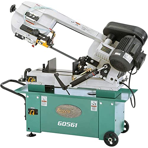 Grizzly Industrial G0561-7 x 12 1 HP Metal-Cutting Bandsaw