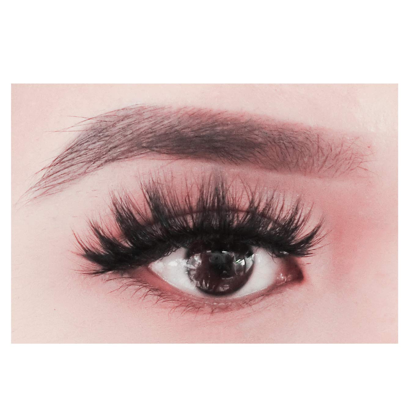 43abfca3de3 Amazon.com: BEPHOLAN Mink Lashes | 100% Siberian Mink Fur False Eyelashes |  Dramatic Round Look | 3D Layered Effect | 100% Handmade & Cruelty-Free ...