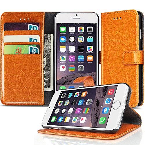 TNP iPhone Plus Wallet Orange