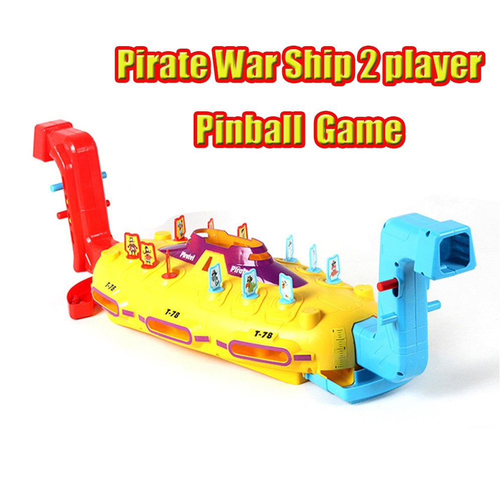 LSMstore Prirate Ship PinBall War Game for 2 Players/ Family Game/ Group Game/ Christmas Toy/ New Fashion Toy