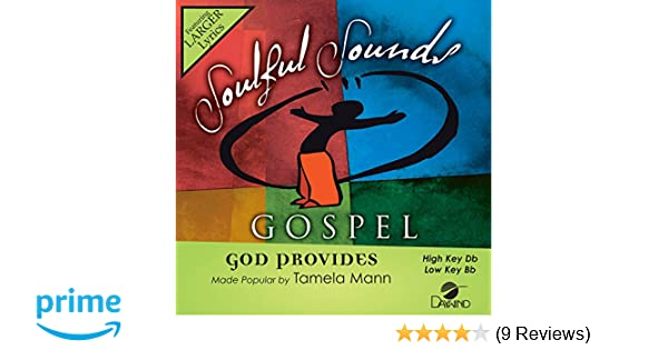 god provides tamela mann instrumental download