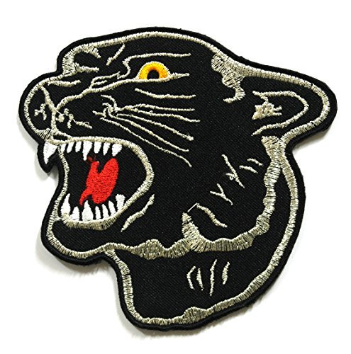 Tiger Patch - Applique Embroidered patches - Iron on Patches - Backpack Patches - Size 10.5 x 10 Cm. -