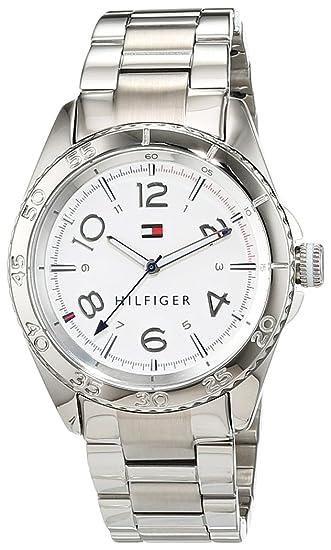 Tommy Hilfiger 1781639 - Reloj de Pulsera analógico para Mujer de Cuarzo y Acero Inoxidable: Tommy Hilfiger: Amazon.es: Relojes