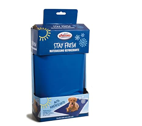 Record 1355.1 Stay Fresh – Alfombrilla refrigerante, L, Azul