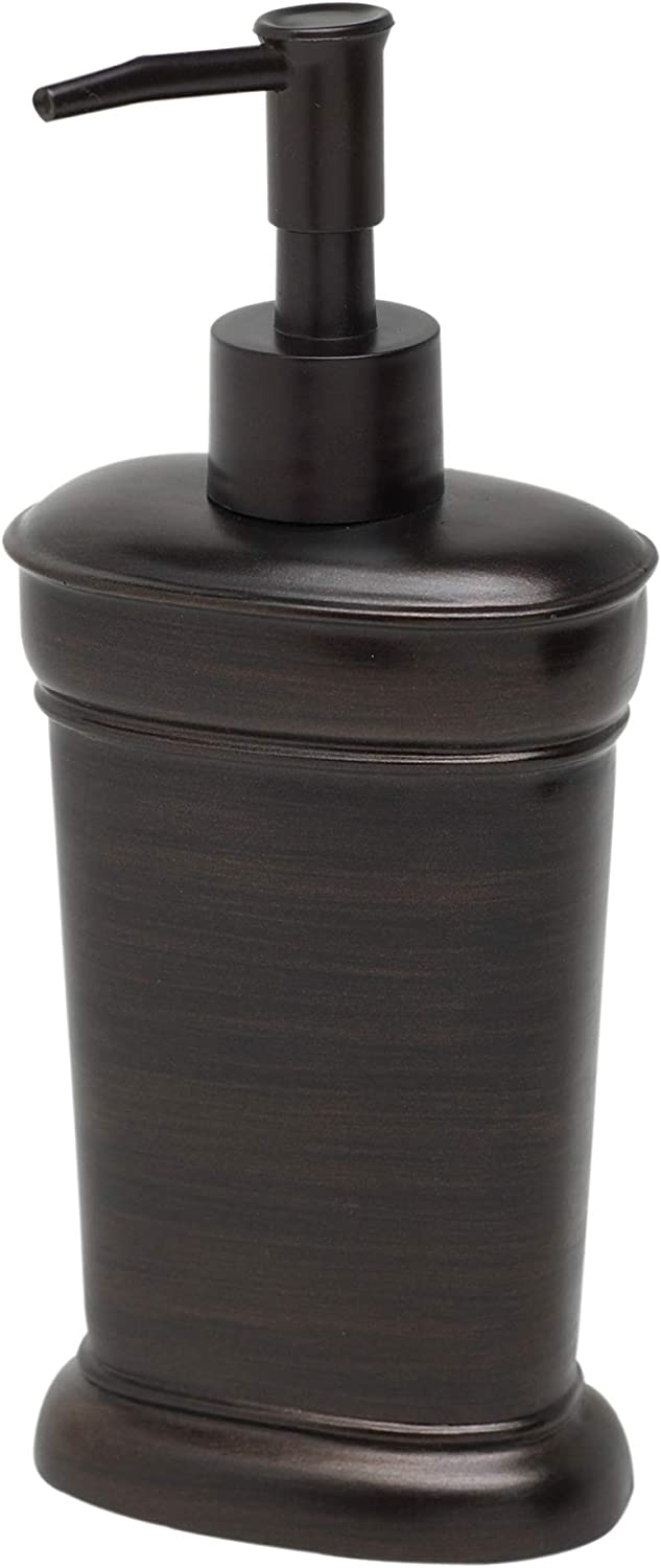 Zenna Home India Ink Marion Lotion or Soap Dispenser, Oil Rubbed Bronze