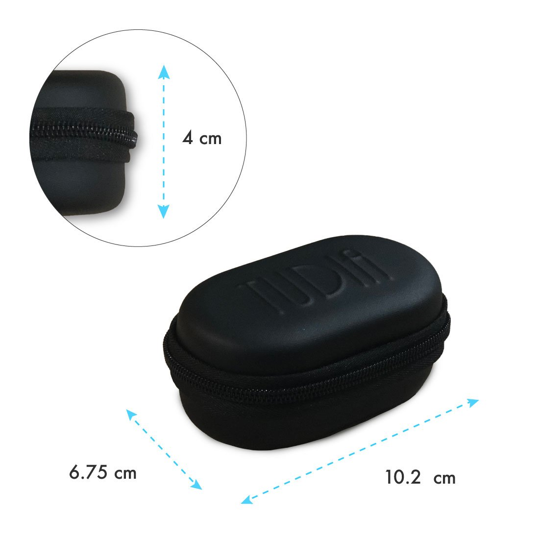 TUDIA Hard Travel EVA Carrying Storage Case for Essential Products/Essential Phone PH-1 360 Degree Camera Lens by TUDIA (Image #5)