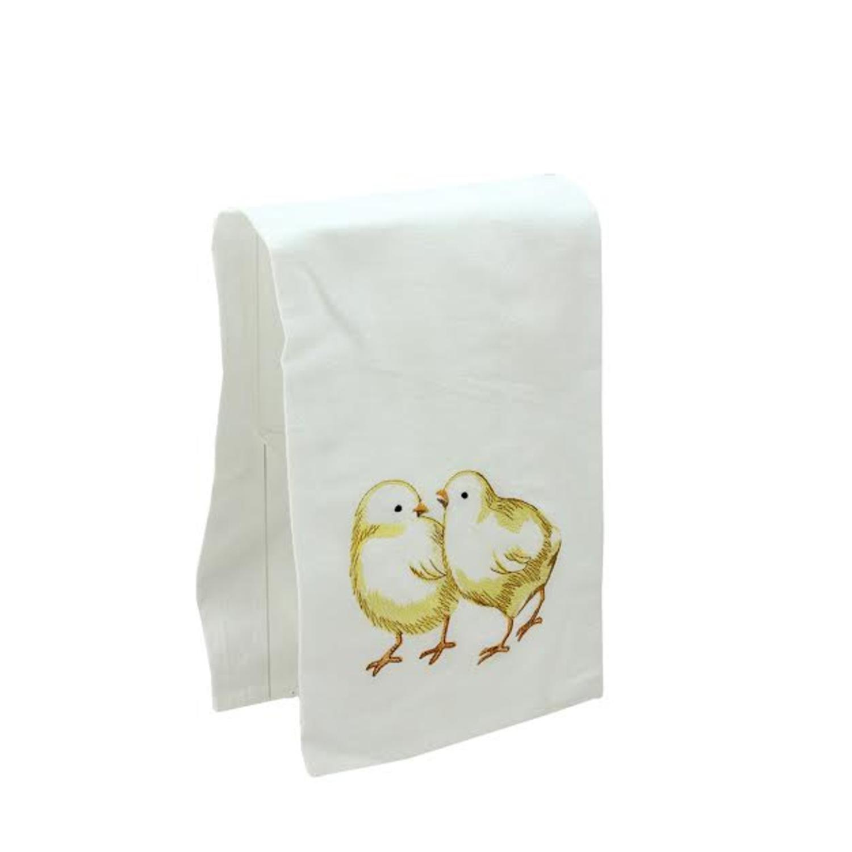 86171012 C/&F Enterprises 18 x 27 Flour Sack Kitchen Towel Chicks